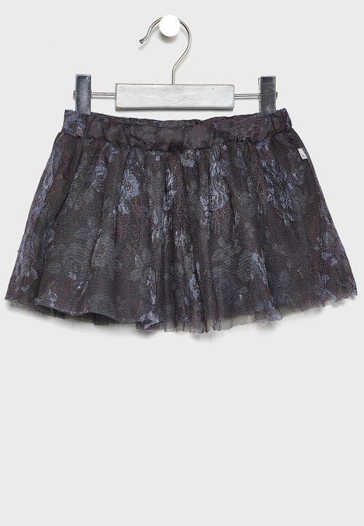 Infant Floral Skirt
