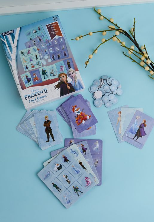 3-In-1 Frozen 2 Card Game