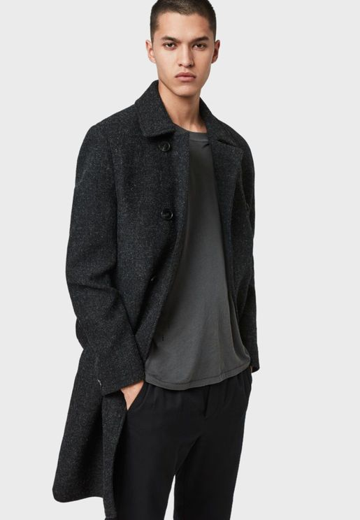 Shaw Button Detail Coat