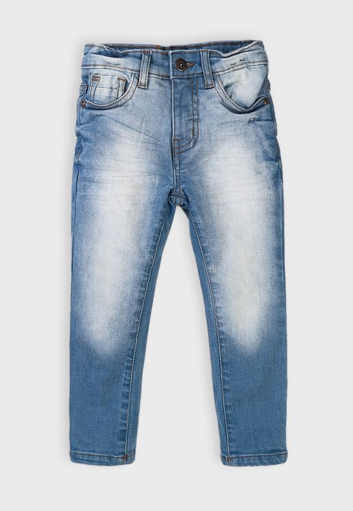 Kids Basic Regular Jeans