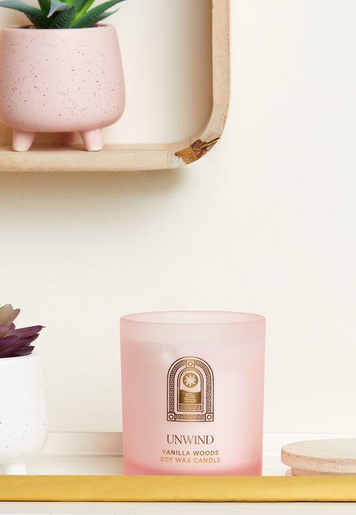 Vanilla Woods Soy Wax Candle