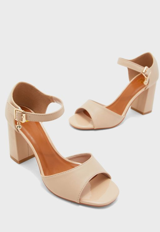 Fillide Ankle Strap High Heel Sandal