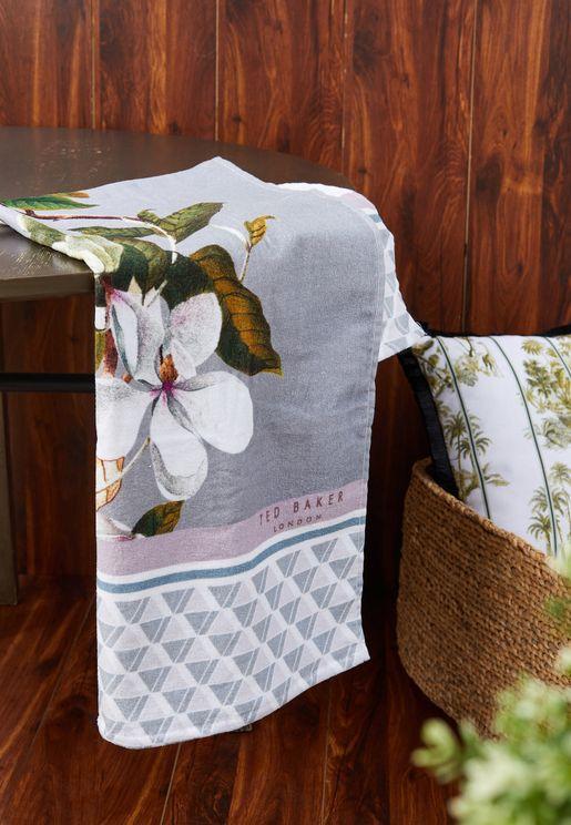Floral Bath Towel 70x125cm