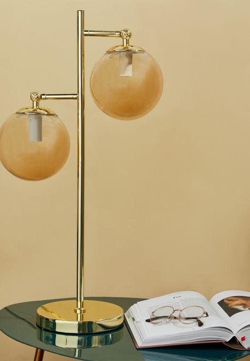 اضاءة طاولة معدنية