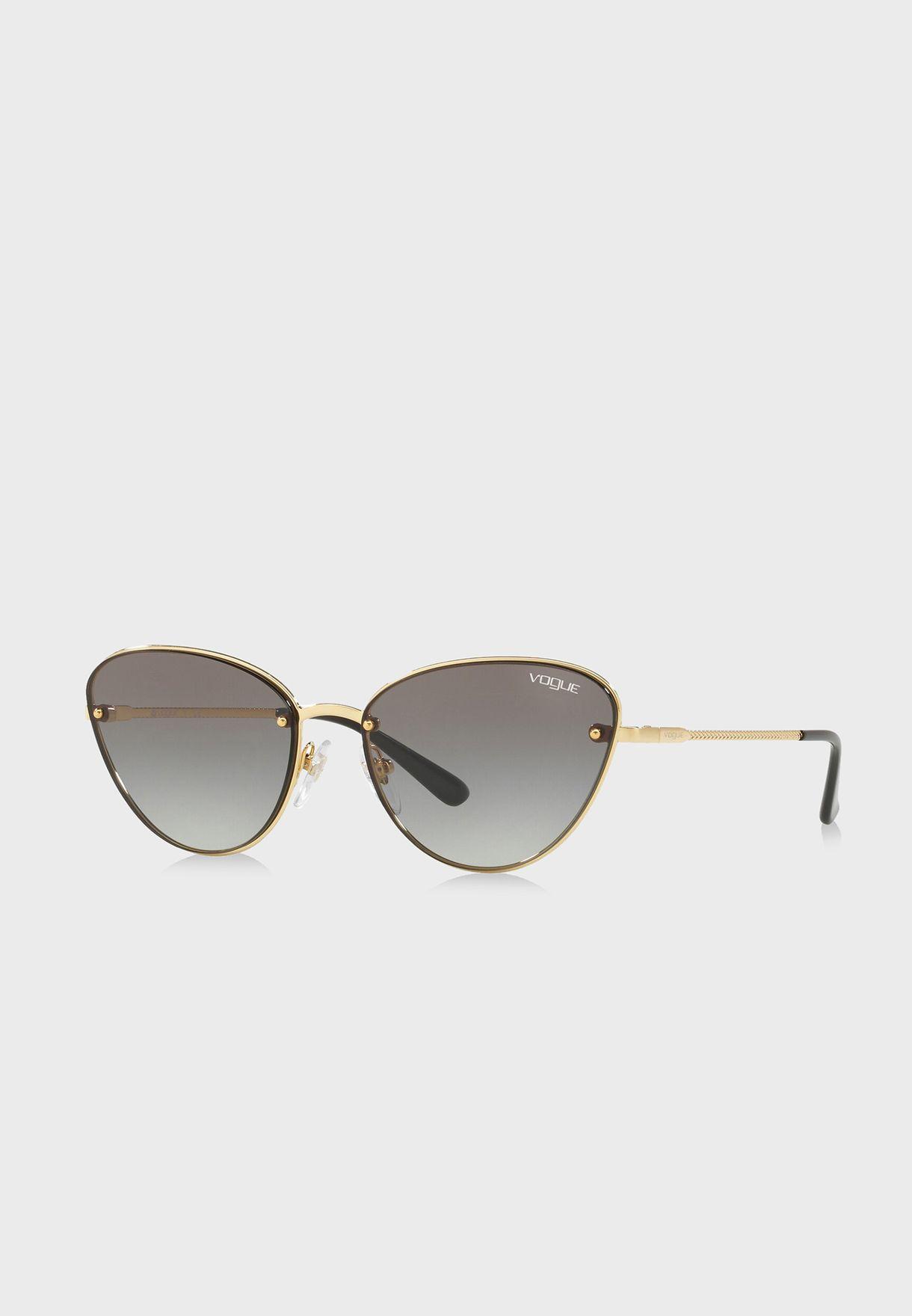 نظارة شمسية بنمط عين قط