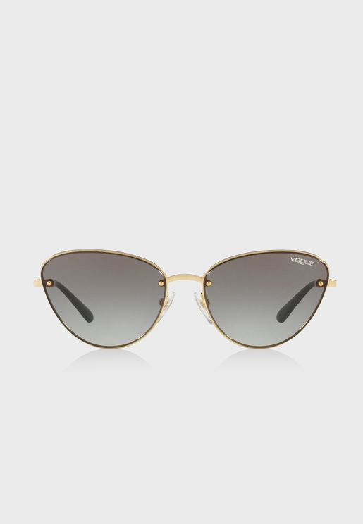 0VO4111S Cat Eye Aviator Sunglasses