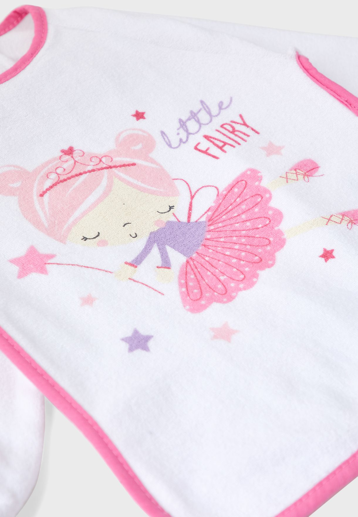 Fairy Long Sleeve Bib