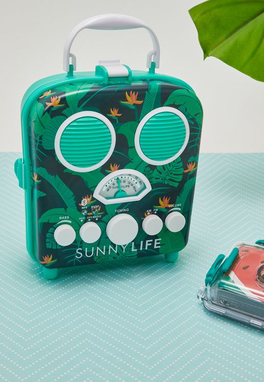Palm Print Summer Speaker