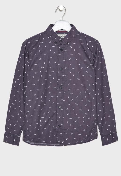 Teen Printed Shirt