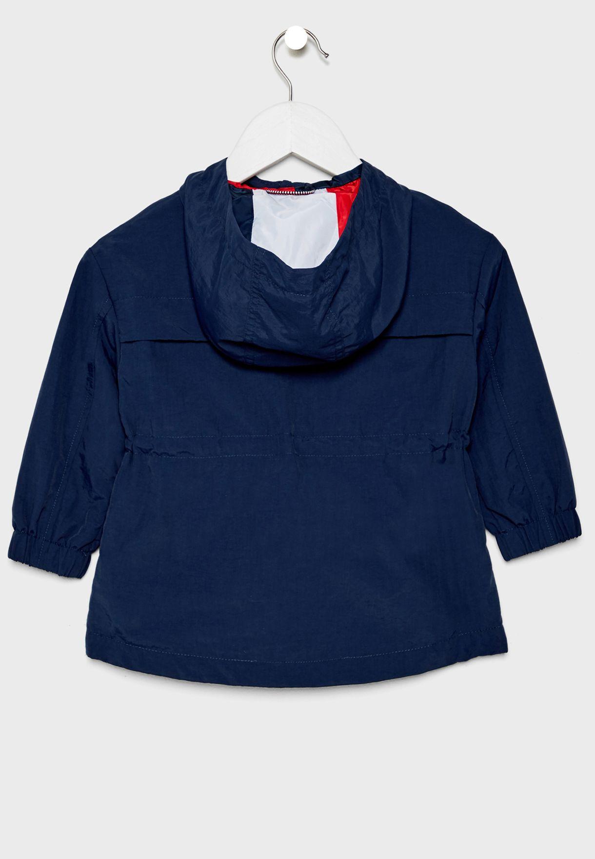 Kids Packable Hooded Jacket