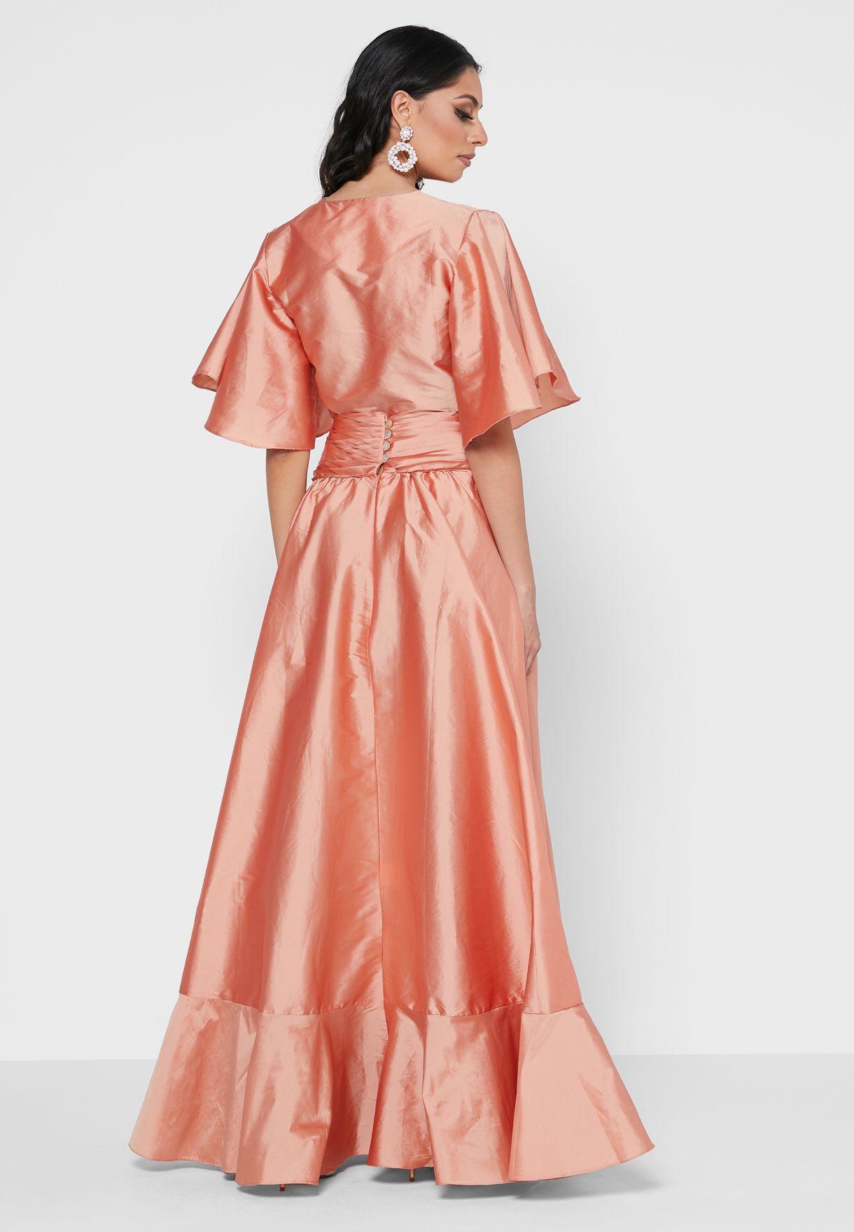 Silk Tafetta Dress
