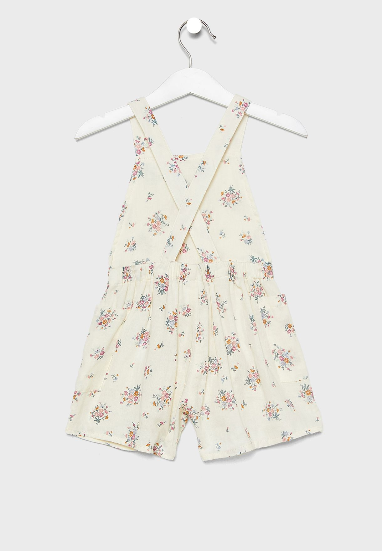 Kids Floral Playsuit