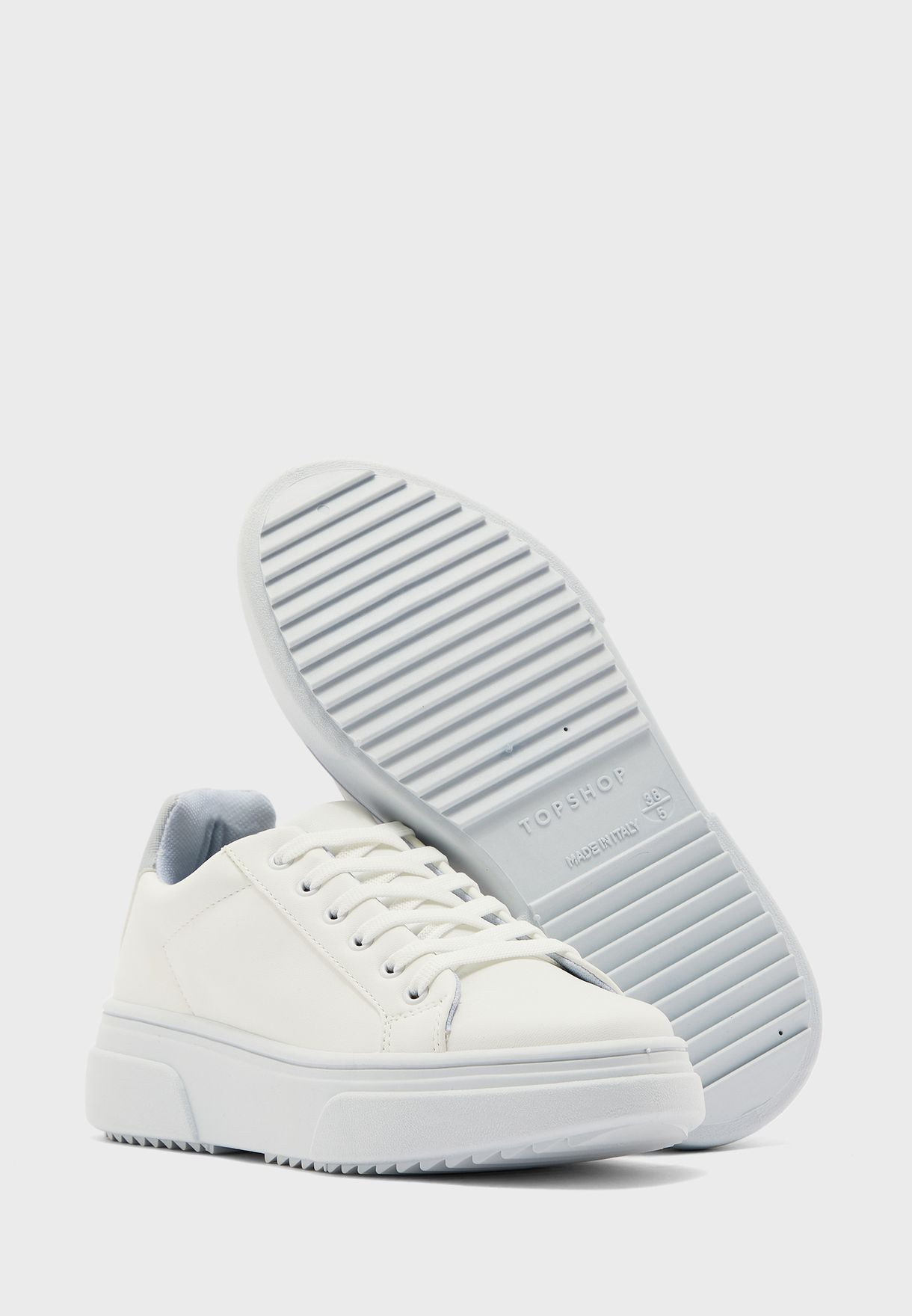 Buy Topshop white Canada Sneakers for