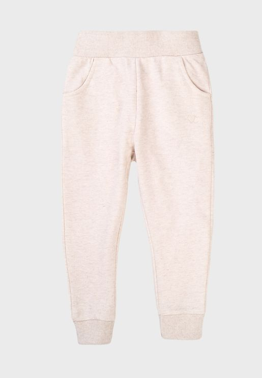 Infant Basic Embroidered Sweatpants