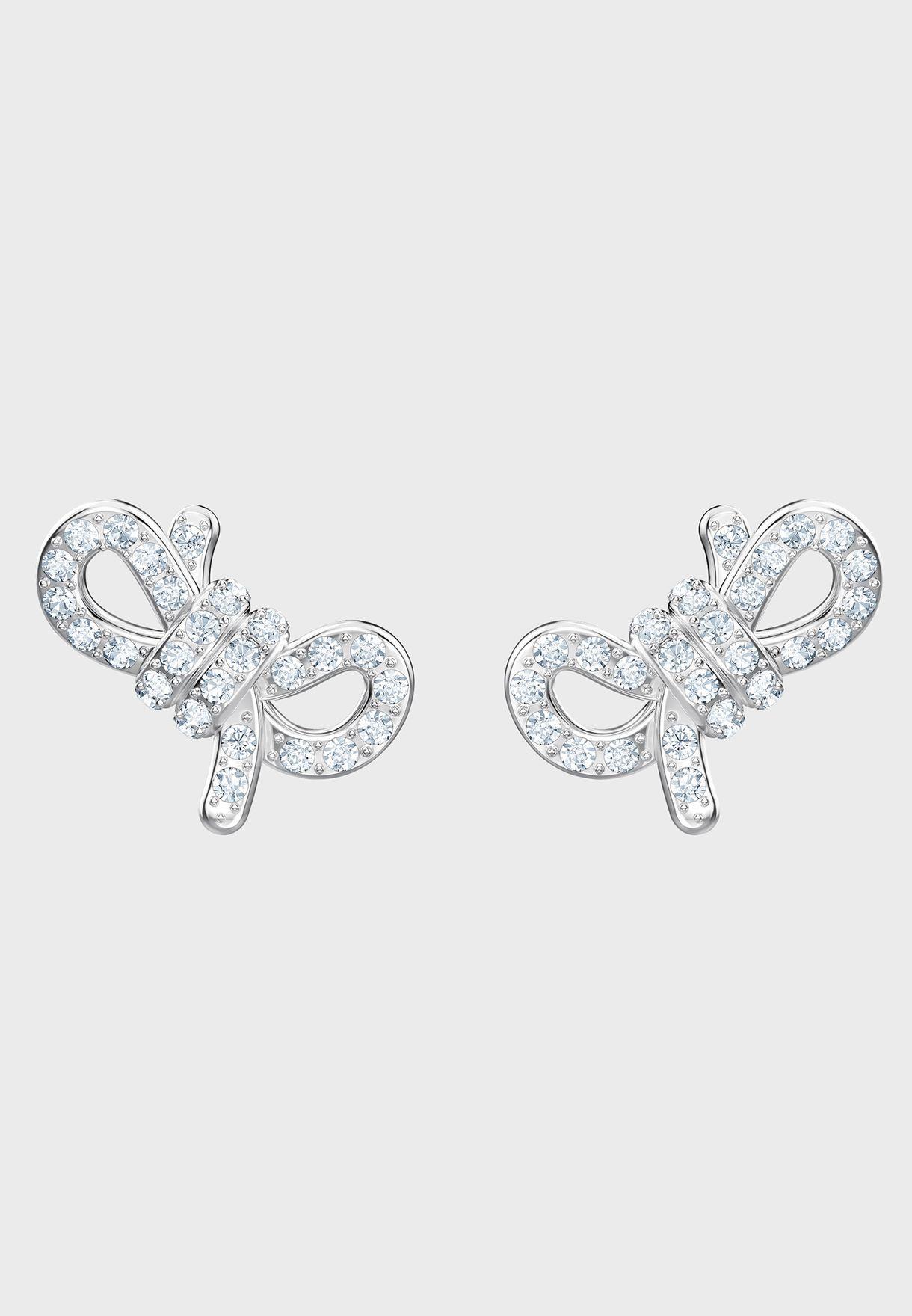 Lifelong Bow Stud Earrings