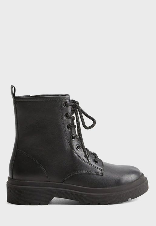 Kids Ankle Top Boot