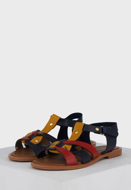 Youth Strappy Sandals