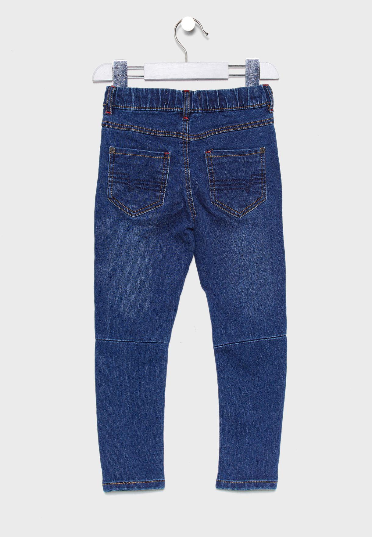 Little Tie Waist Jeans
