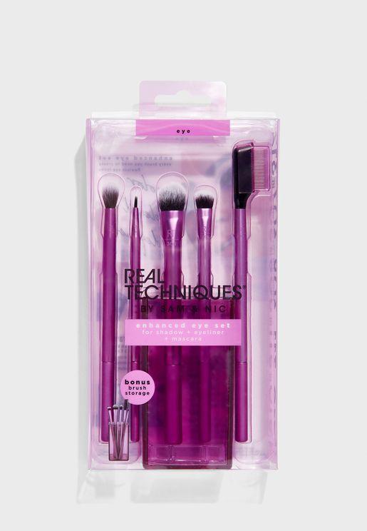 Enhanced Eye Brush Set