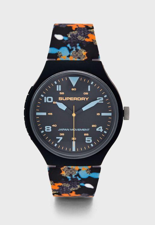 Urban Xl Camo Analog Watch