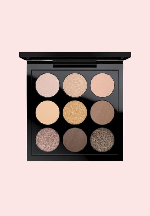 X9 Eye Shadow Palette - Amber Times Nine