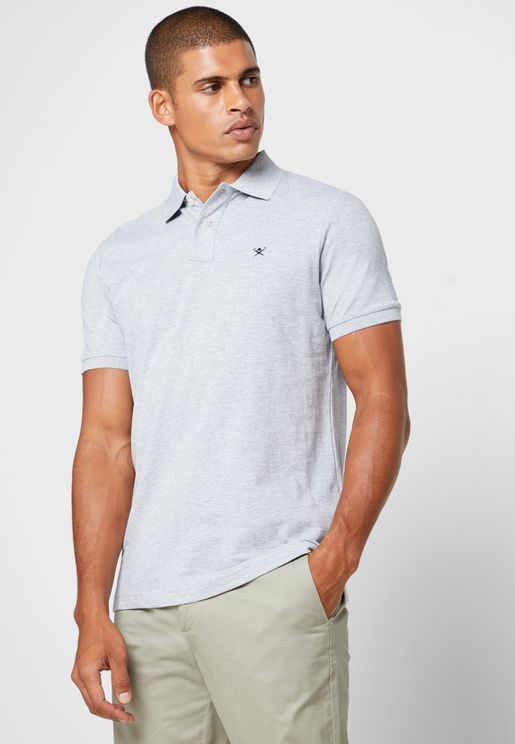 Logo Slim Fit Polo