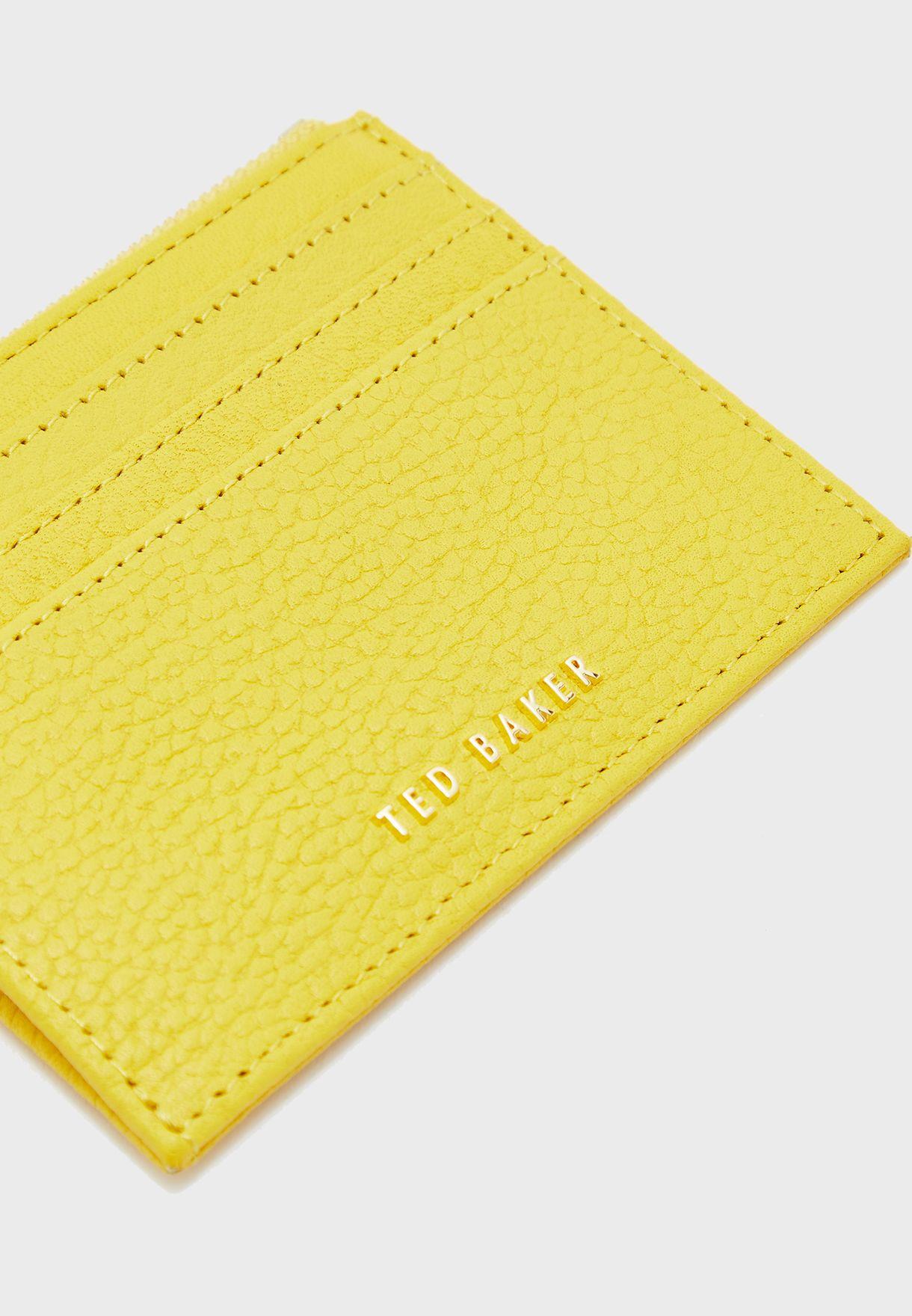 محفظة بطاقات بشعار الماركة