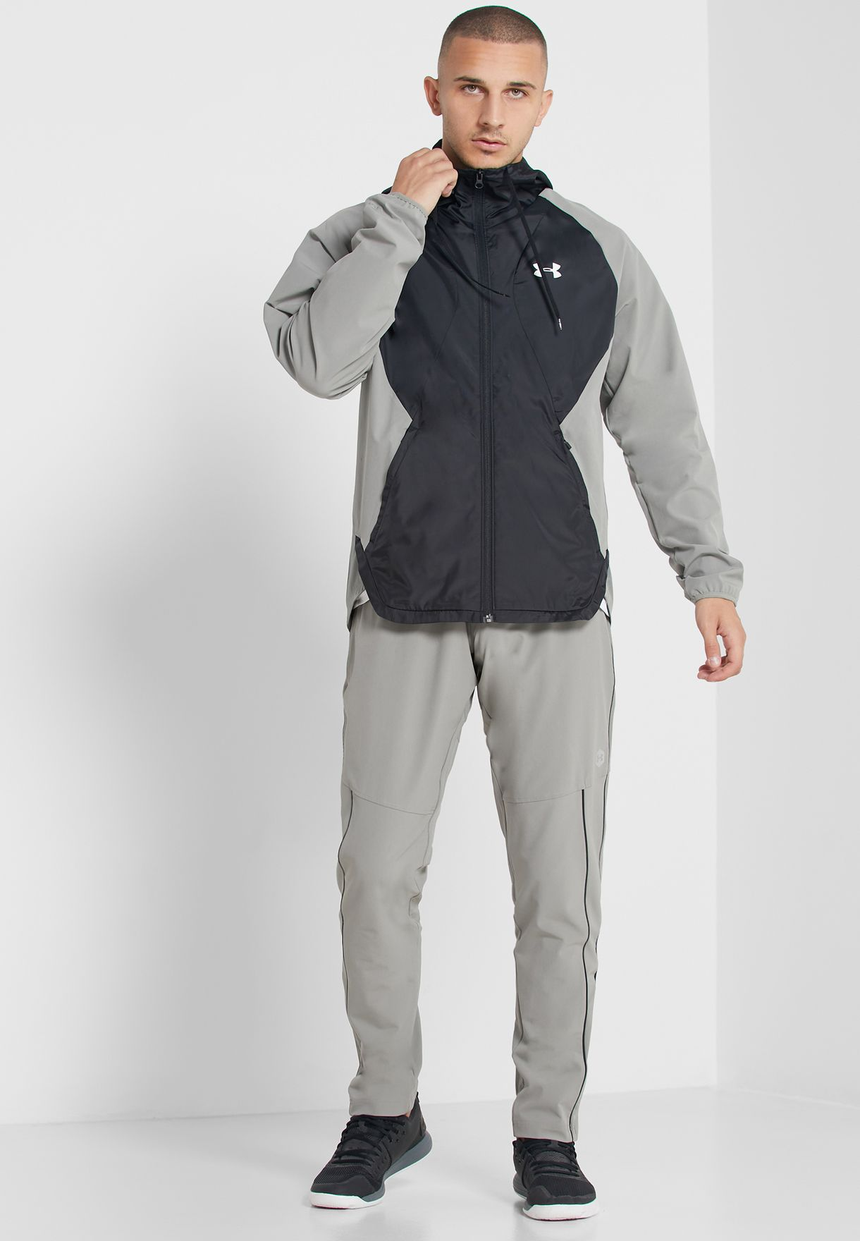 Stretch Hooded Jacket