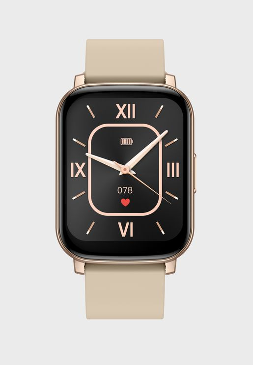 Smart Watch With Health And Fitness Features