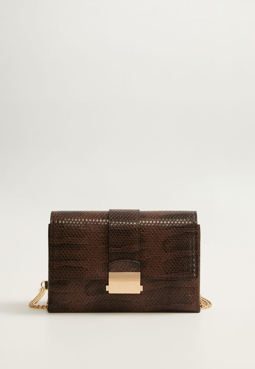 Turquia Push Lock Flap Over Crossbody