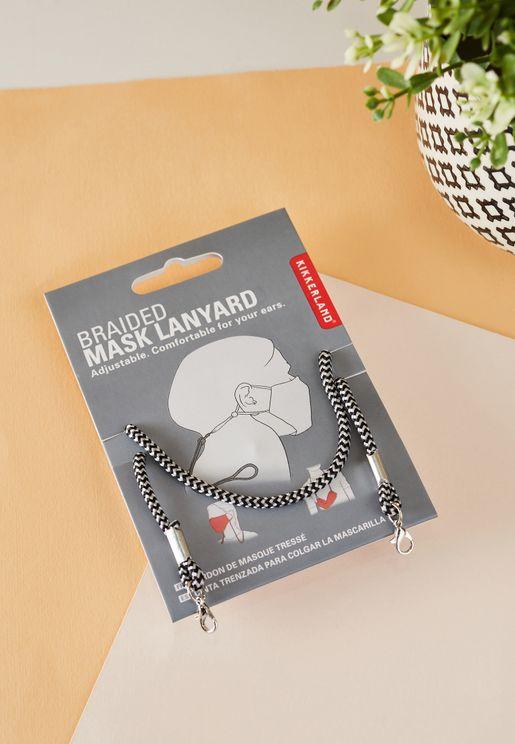 Braided Black Mask Chain