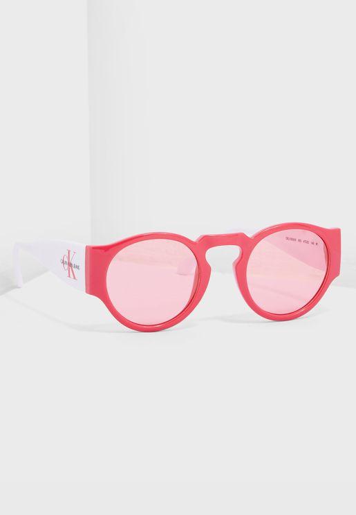 نظارة شمسية دائرية بلونين