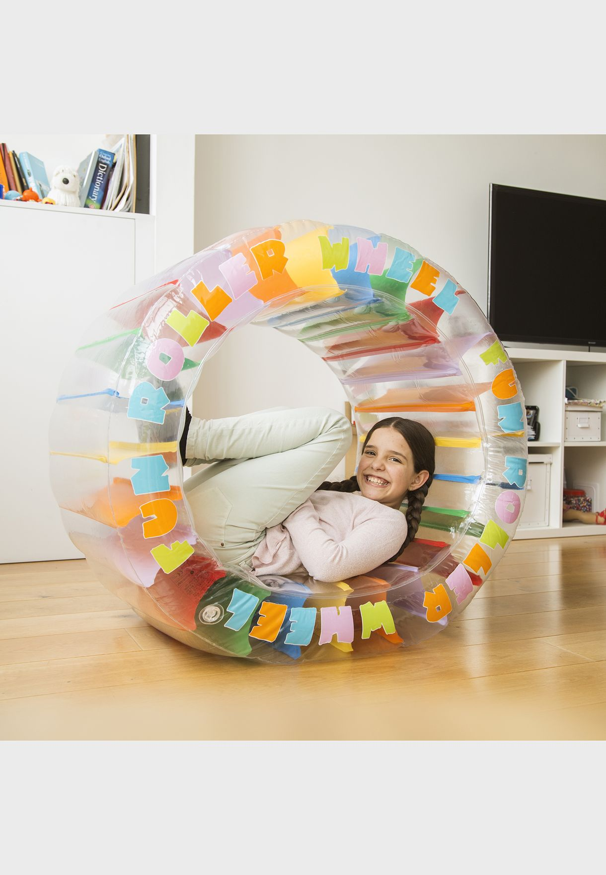 Kids Inflatable Roller Wheel Toy