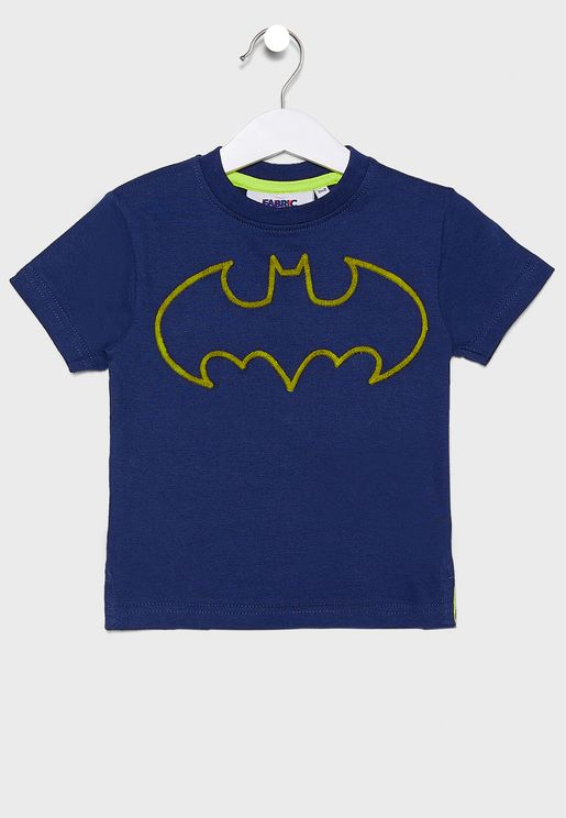 Kids Batman Logo T-Shirt