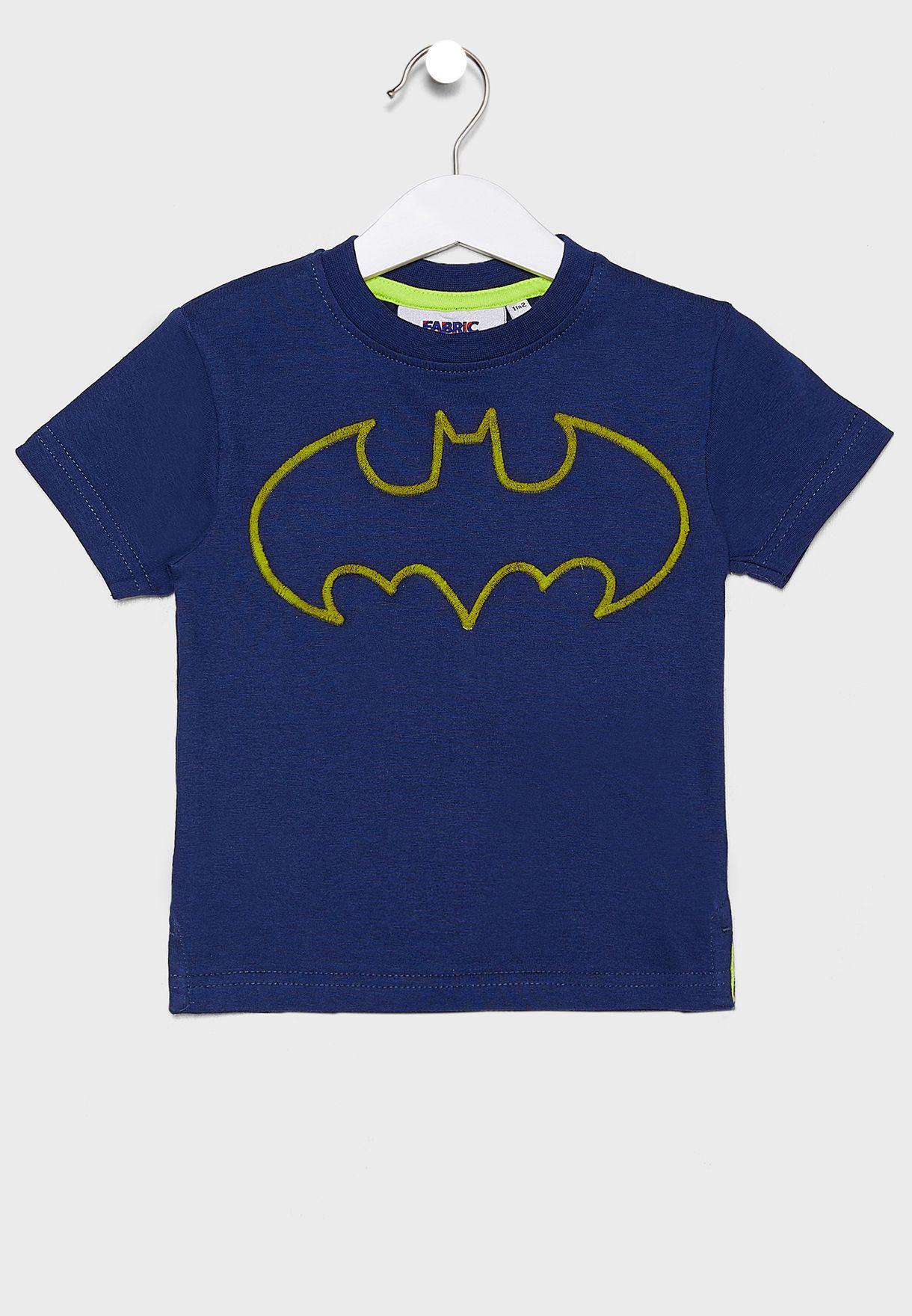 تيشيرت مزين بشعار باتمان