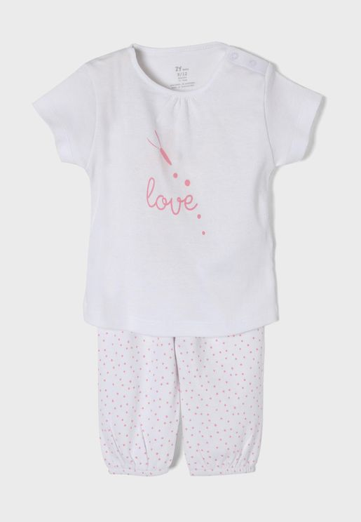 Infant Love Pyjama T-Shirt