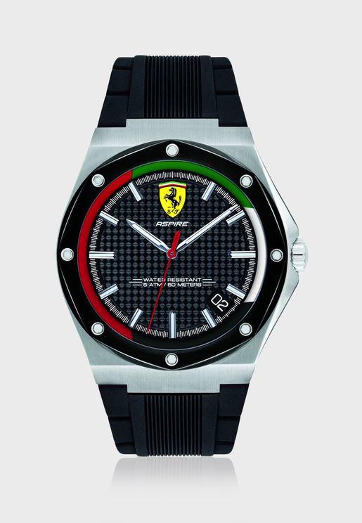 830709 Aspire Analog Watch
