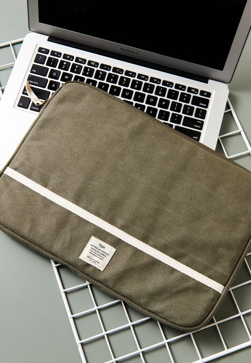"13"" Take Charge Canvas Laptop Cover"