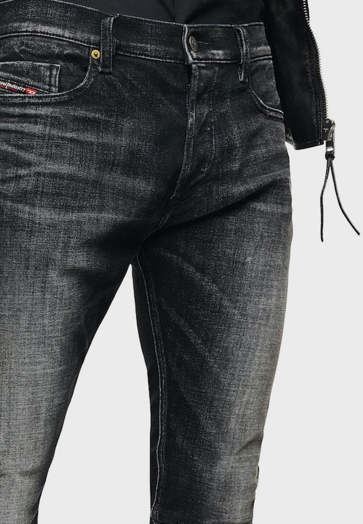 بنطال جينز بقصة سلم فيت