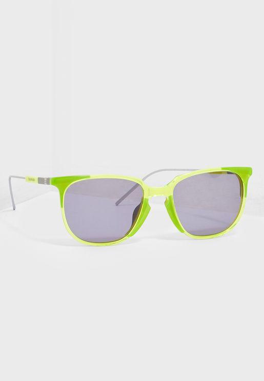 نظارة شمسية مربعة وبلونين
