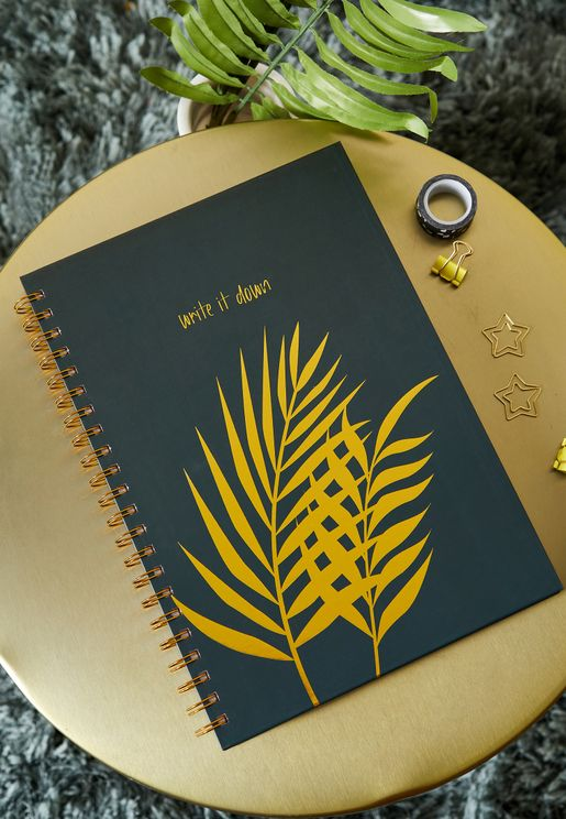 A4 Palm Leaf Notebook