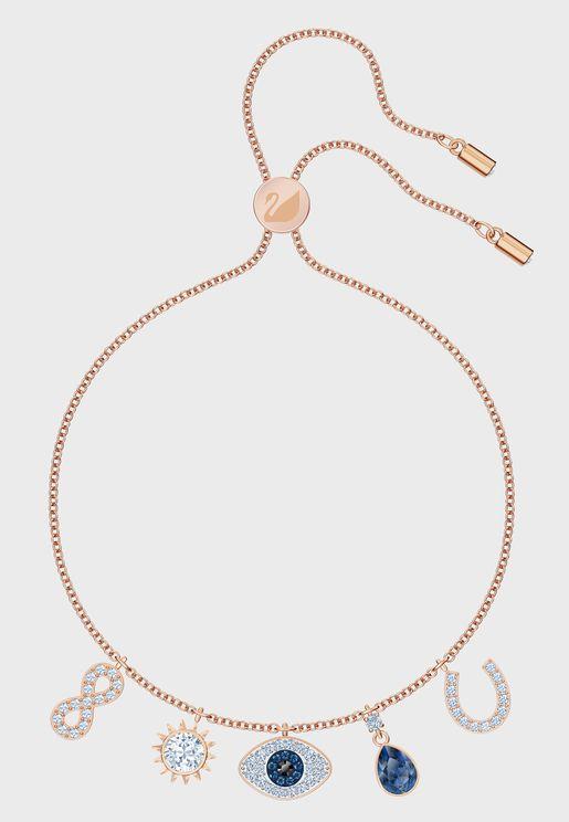 Swa Symbol Charms Bracelet