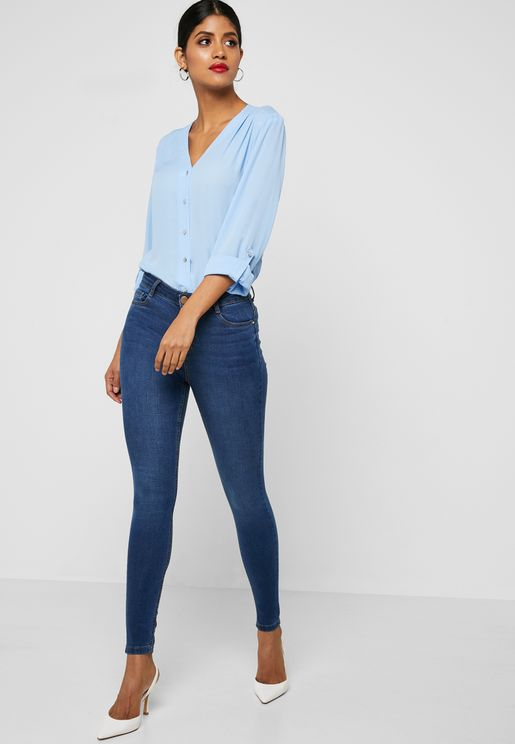 Shape and Lift High Waist Jeans