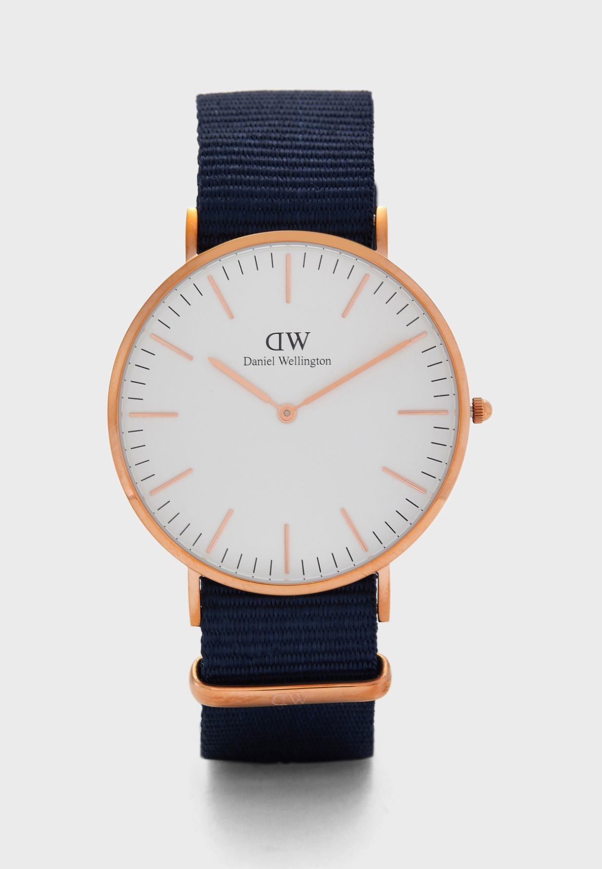 Classic Bayswater RG White 40mm Watch