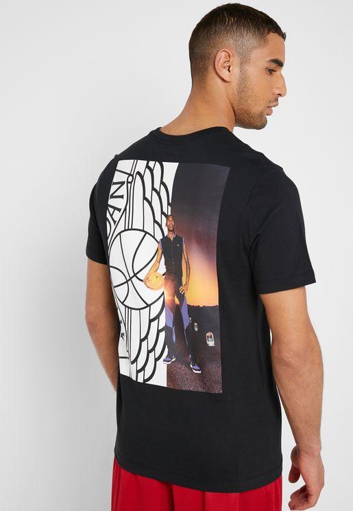cdbe4bc74fcfa7 Jordan Wings Photo T-Shirt. Nike