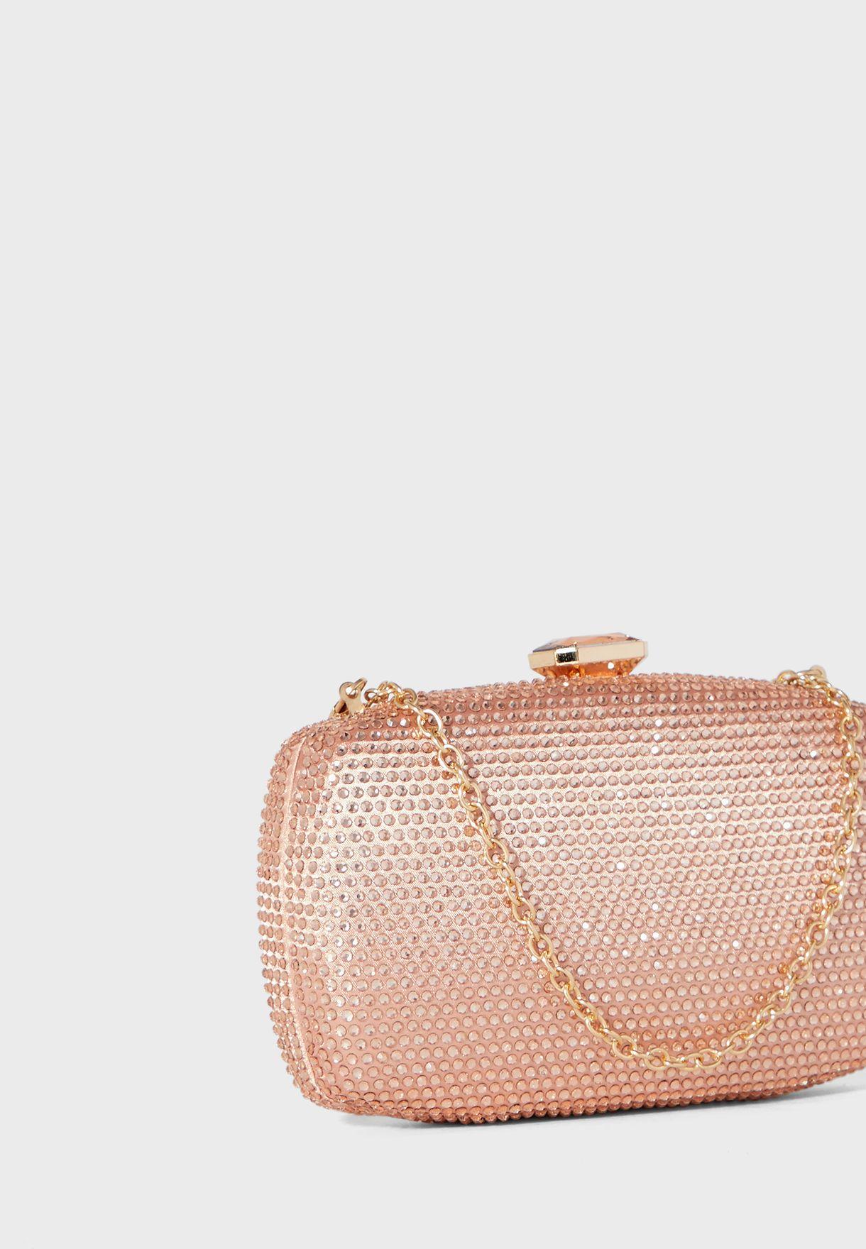 Diamante Clutch Bag