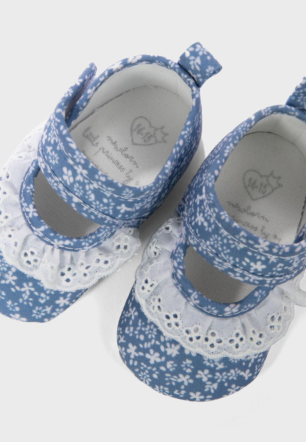 حذاء باليرينا مطبع