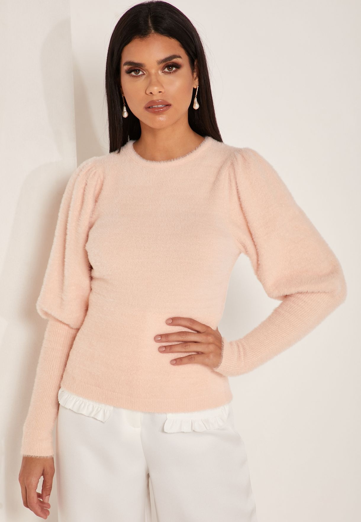 Sleeve Detail Sweater