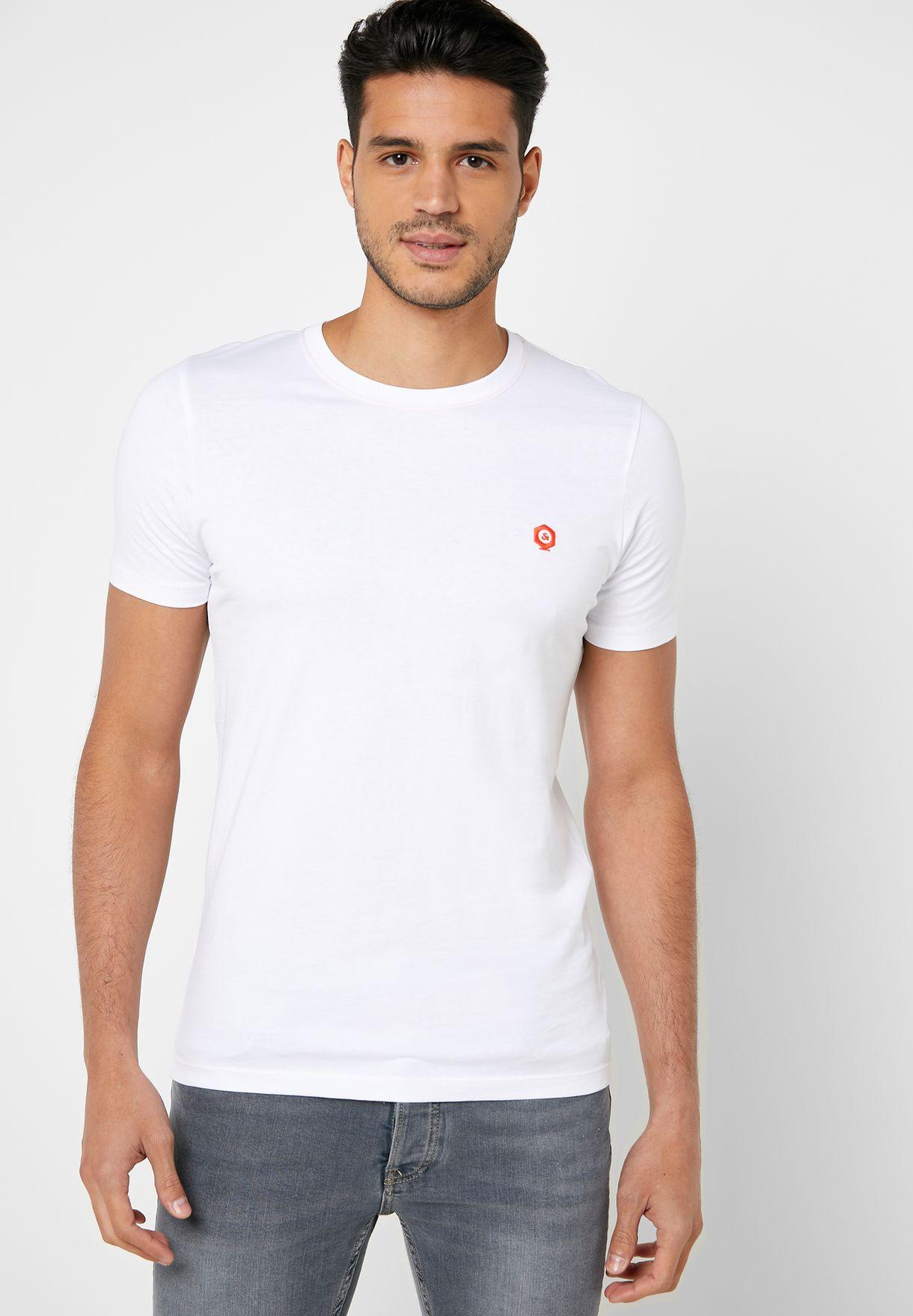 Hobart Slim Fit Crew Neck T-Shirt