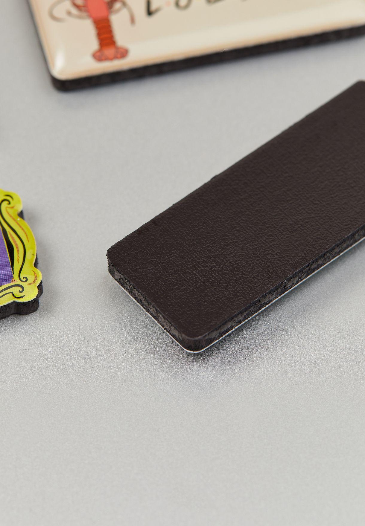 Set Of 5 Friends Magnets